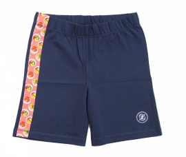 14 Zee & Zo korte pyjama broek blauw maat 140