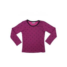 021 LoFff shirts dots pink Z7655-02
