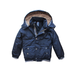 0016 Far out jongens winterjas  blauw model Orka