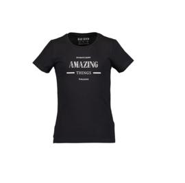 00003 Blue Seven shirt zwart 502690