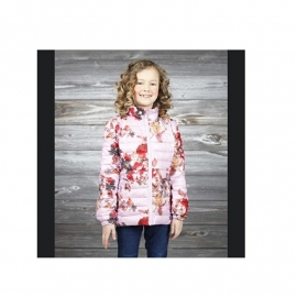 03 Airforce zomer jas flower Lila g1519