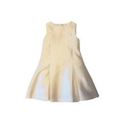 0006 IDO jurk beige jurk  maat 116