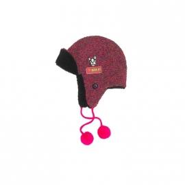 0001 Mim Pi 1717 Muts roze-paars