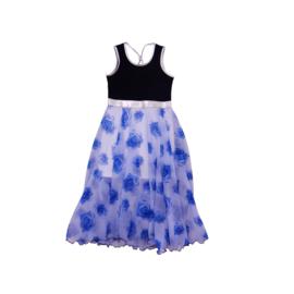 00013 LoFff jurk Barcelona blauw  Z8306-01