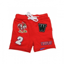 0002  Two Play short rood  maat 98-104