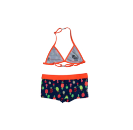 001 JUST BEACH Apple Pineapple Bikini