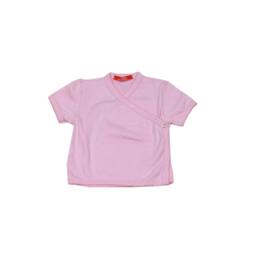 001 Hanssop overslag shirt roze maat 62/68