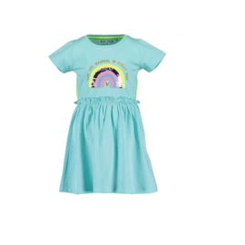 0001 Blue Seven jurk blauw 721587
