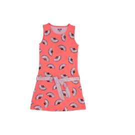 0001 LoFff jurk Alicante perzik  Z8314-04