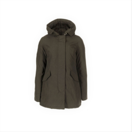 01 Airforce  Dames parka jas brown W0051