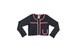 002 LoFff Jacket -Grey/Pink- Z8043-03