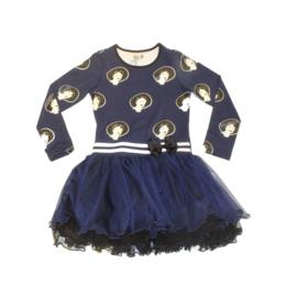 0001 LoFff  Z8261-01 jurk Maat 104
