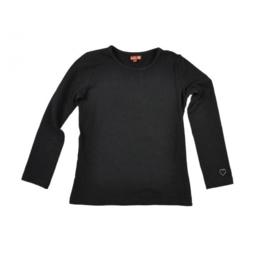 5 LoFff z9211-11 basic shirt longsleeve zwart