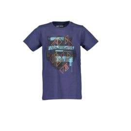 000 Blue Seven shirt blauw 602726