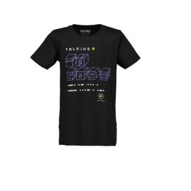 0006 Blue Seven shirt zwart 602677