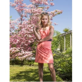 0001 LavaLava jurk Milan perzik 19-115