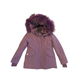 001 Airforce  parka jas paars HR72W0137 maat 122-128