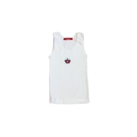 0001 Hanssop hemd wit kroon  maat 92