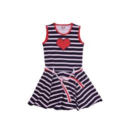 00013 LoFff jurk marbella blauw  Z8313-02