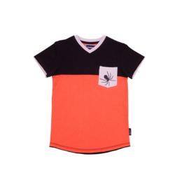 0001  Legends22 Shirt Steve orange-grey 20-302