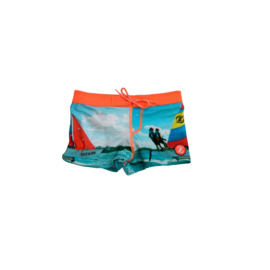 ZEE & ZO Douglas Photoprint baby Sail short