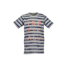 000 Blue Seven shirt grijs  602689