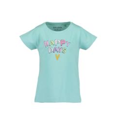 00001 Blue Seven shirt Aqua 702205