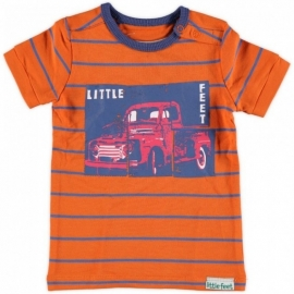 Little Feet shirt Orange T06B4 maat 74