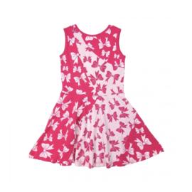 000019 LoFff  jurk -  roze -Z8110-01