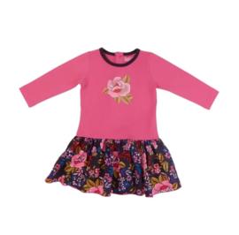 000 LoFff jurk roze b8211-01  maat 68