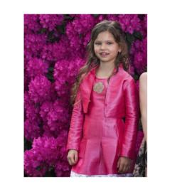 00052 LoFff  jacket - silk roze Z8194-03