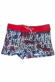 0001 Zee & Zo zwembroek blauw-rood sri lanka  maat 80