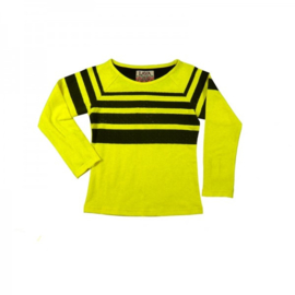 0011 LavaLava T-shirt yellow -black 17-236