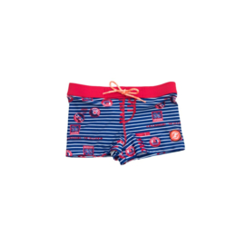 001 ZEE & ZO Douglas Blue Stripe short