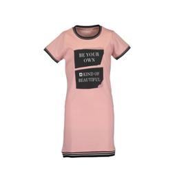 1 Blue Seven jurk roze  528065