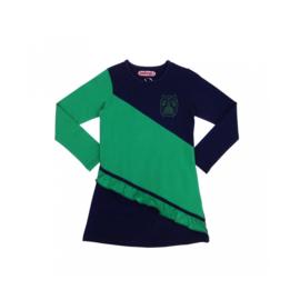 00005 Happynr1 jurk blauw-groen 19-205