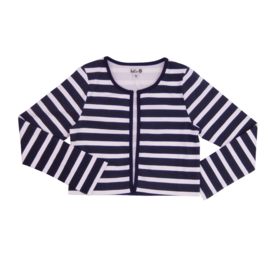 000011 LoFff Jacket-Blue white stripes Z8344-06