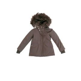 001 Airforce  parka jas coffe bean HR72W0137  128-134