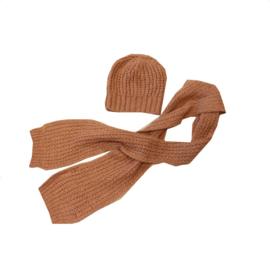 0009 Aymara muts Luisa met sjaal simon maat 3-8 maanden