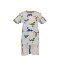 00002 Blue Seven set shirt/short dino 826002