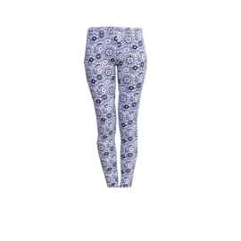 004 Far out legging blauwe bloem