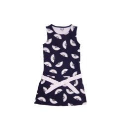 00013 LoFff jurk Alicante blauw  Z8314-01
