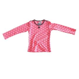 0000 LoFff Shirt -Black/pink- Z8048-01