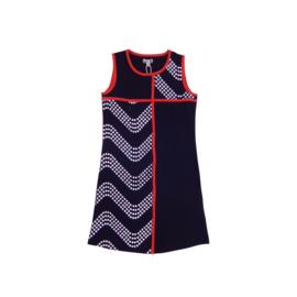 00013 LoFff jurk cordoba blauw  Z8303-02