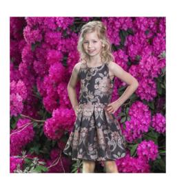 000052 LoFff jurk - jacquard dress Z8188-04