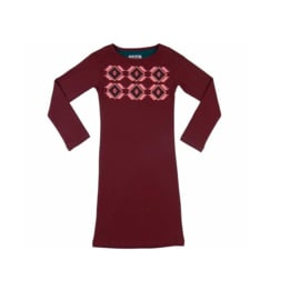 012 LavaLava jurk Rio rood 18-245