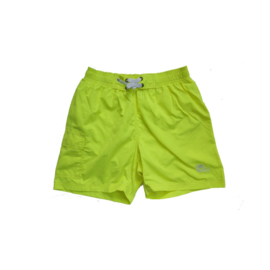 001 Just Beach Coconut Neon Yellow board short