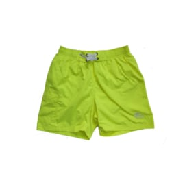01 Just Beach Coconut Neon Yellow board short