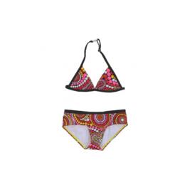 001 Just Beach bikini stippels Flamingo