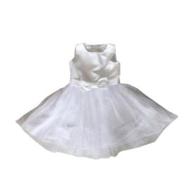 0006 IDO jurk witte jurk  maat 116